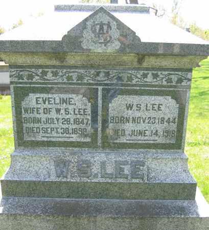 LEE, W.S. - Union County, Ohio   W.S. LEE - Ohio Gravestone Photos
