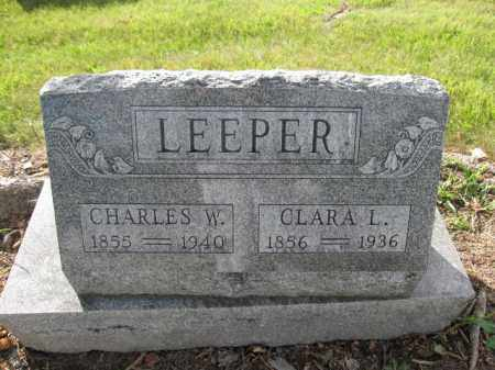 LEEPER, CHARLES W. - Union County, Ohio   CHARLES W. LEEPER - Ohio Gravestone Photos