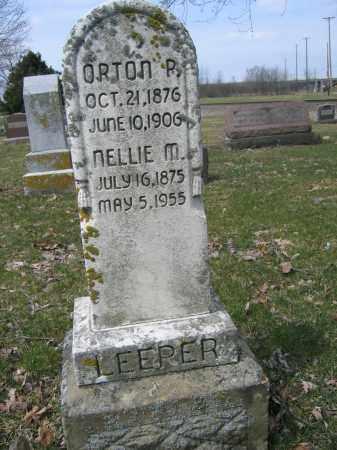 LEEPER, NELLIE M. - Union County, Ohio | NELLIE M. LEEPER - Ohio Gravestone Photos