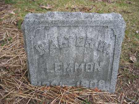 LEMMON, WALTER W. - Union County, Ohio | WALTER W. LEMMON - Ohio Gravestone Photos