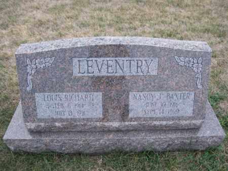 LEVENTRY, LOUIS RICHARD - Union County, Ohio | LOUIS RICHARD LEVENTRY - Ohio Gravestone Photos