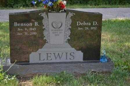 LEWIS, BENSON B. - Union County, Ohio | BENSON B. LEWIS - Ohio Gravestone Photos