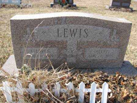 LEWIS, IRENE - Union County, Ohio | IRENE LEWIS - Ohio Gravestone Photos