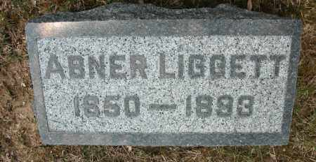 LIGGETT, ABNER - Union County, Ohio | ABNER LIGGETT - Ohio Gravestone Photos