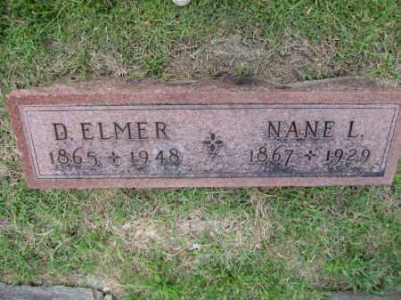 LIGGETT, DAVID ELMER - Union County, Ohio | DAVID ELMER LIGGETT - Ohio Gravestone Photos