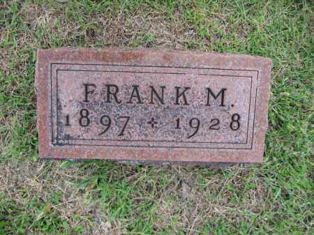 LIGGETT, FRANK M. - Union County, Ohio | FRANK M. LIGGETT - Ohio Gravestone Photos
