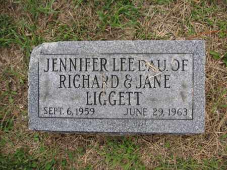 LIGGETT, JENNIFER LEE - Union County, Ohio   JENNIFER LEE LIGGETT - Ohio Gravestone Photos