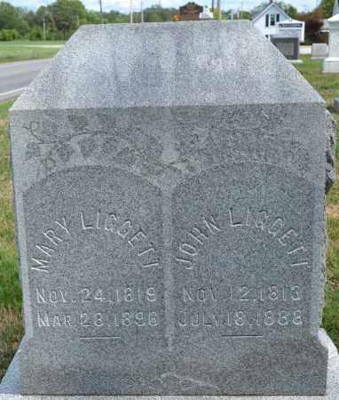 LIGGETT, JOHN - Union County, Ohio | JOHN LIGGETT - Ohio Gravestone Photos