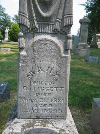 LIGGETT, MARY - Union County, Ohio | MARY LIGGETT - Ohio Gravestone Photos