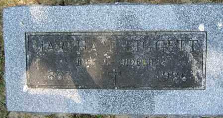 LIGGETT, MARTHA E. - Union County, Ohio   MARTHA E. LIGGETT - Ohio Gravestone Photos