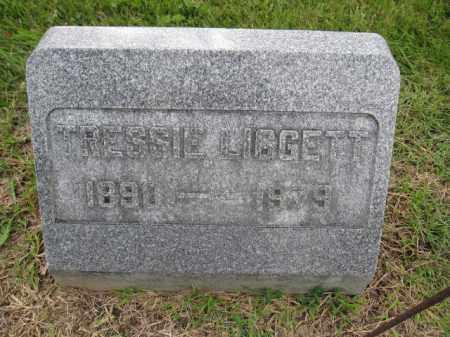 LIGGETT, TRESSIE - Union County, Ohio | TRESSIE LIGGETT - Ohio Gravestone Photos