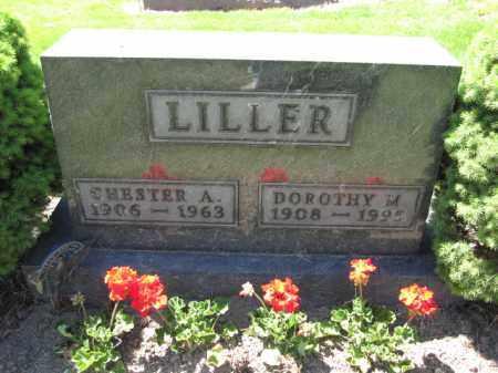 LILLER, DOROTHY M. - Union County, Ohio | DOROTHY M. LILLER - Ohio Gravestone Photos