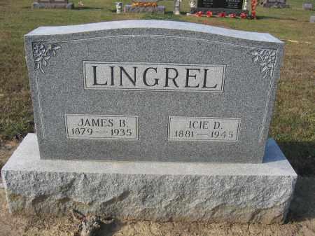 LINGREL, ICIE D. - Union County, Ohio | ICIE D. LINGREL - Ohio Gravestone Photos