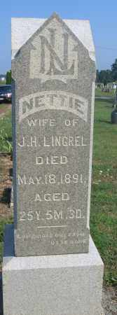LINGREL, NETTIE - Union County, Ohio | NETTIE LINGREL - Ohio Gravestone Photos