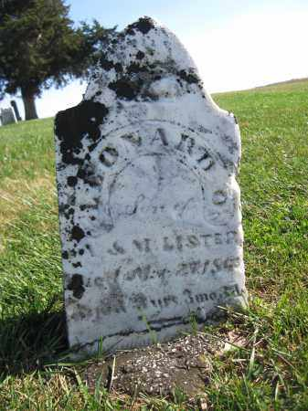LISTER, LEONARD O. - Union County, Ohio | LEONARD O. LISTER - Ohio Gravestone Photos