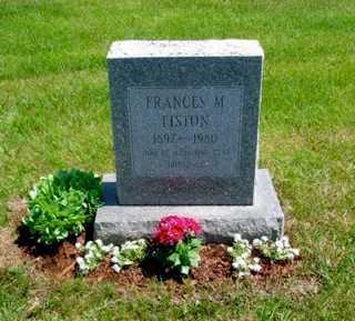 MITCHELL LISTON, FRANCES MARGARET - Union County, Ohio | FRANCES MARGARET MITCHELL LISTON - Ohio Gravestone Photos