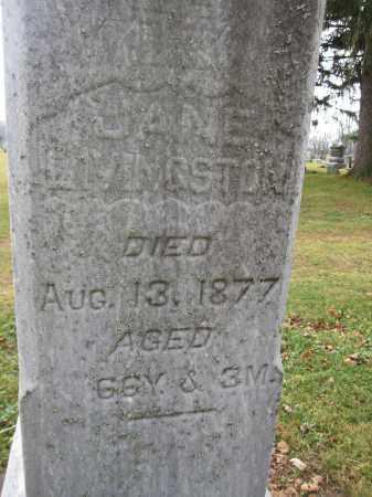 LIVINGSTON, JANE GRAHAM - Union County, Ohio   JANE GRAHAM LIVINGSTON - Ohio Gravestone Photos