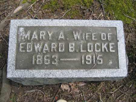 LOCKE, MARY A. - Union County, Ohio | MARY A. LOCKE - Ohio Gravestone Photos
