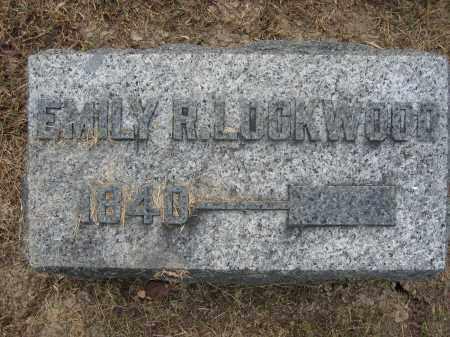 LOCKWOOD, EMILY R. - Union County, Ohio | EMILY R. LOCKWOOD - Ohio Gravestone Photos