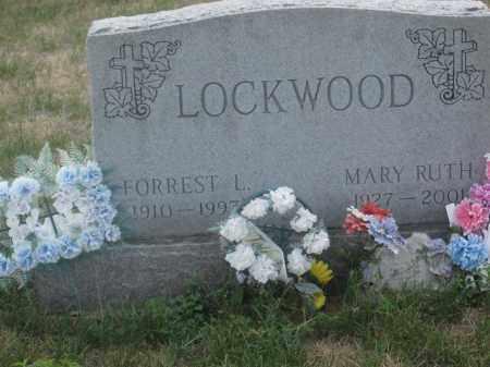 LOCKWOOD, FORREST L. - Union County, Ohio | FORREST L. LOCKWOOD - Ohio Gravestone Photos