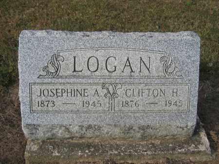 LOGAN, CLIFTON H. - Union County, Ohio | CLIFTON H. LOGAN - Ohio Gravestone Photos