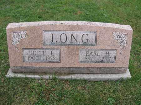 LONG, EDITH L. - Union County, Ohio | EDITH L. LONG - Ohio Gravestone Photos