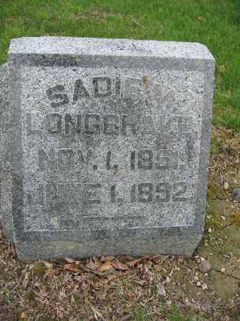 LONGBRAKE, SADIE M. - Union County, Ohio | SADIE M. LONGBRAKE - Ohio Gravestone Photos