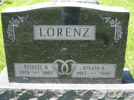 LORENZ, RENATA A. - Union County, Ohio   RENATA A. LORENZ - Ohio Gravestone Photos
