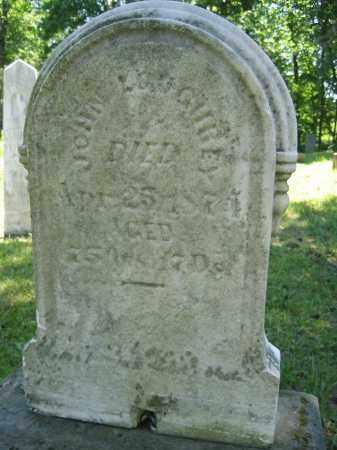 LOUGHREY, JOHN - Union County, Ohio | JOHN LOUGHREY - Ohio Gravestone Photos