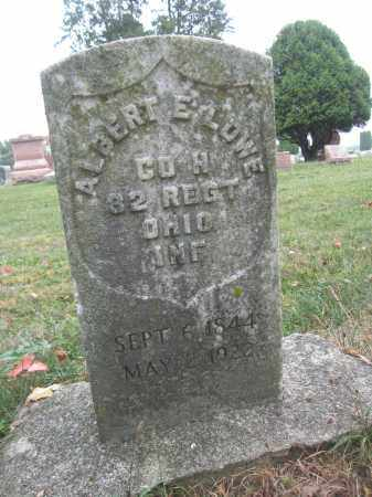 LOWE, ALBERT E. - Union County, Ohio   ALBERT E. LOWE - Ohio Gravestone Photos