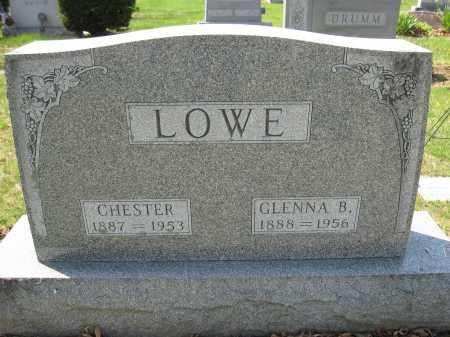 LOWE, CHESTER - Union County, Ohio   CHESTER LOWE - Ohio Gravestone Photos