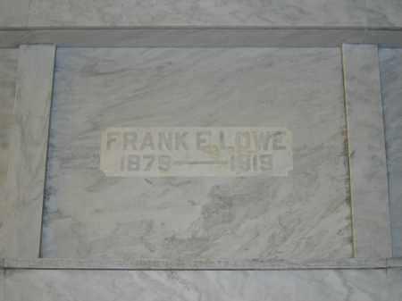 LOWE, FRANK E. - Union County, Ohio | FRANK E. LOWE - Ohio Gravestone Photos