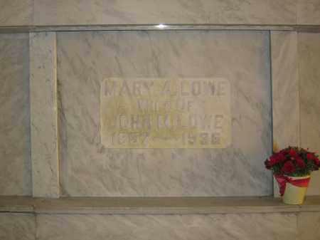 LOWE, MARY A. - Union County, Ohio | MARY A. LOWE - Ohio Gravestone Photos