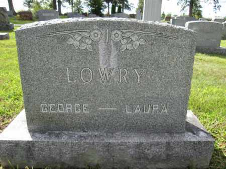 LOWRY, LAURA - Union County, Ohio | LAURA LOWRY - Ohio Gravestone Photos