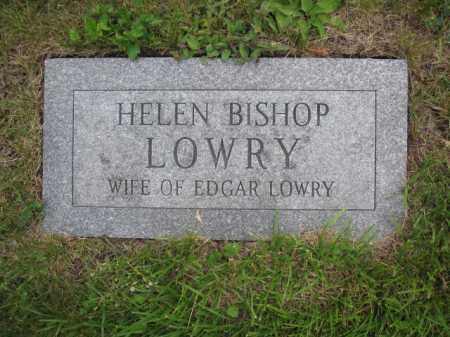 LOWRY, HELEN K. RAUSCH-BISHOP - Union County, Ohio | HELEN K. RAUSCH-BISHOP LOWRY - Ohio Gravestone Photos