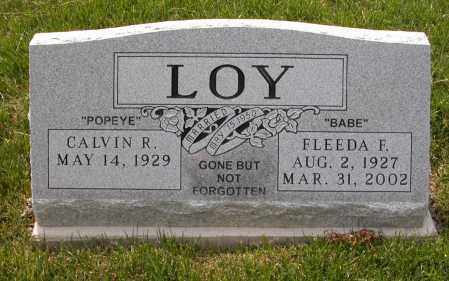 LOY, FLEEDA F. - Union County, Ohio | FLEEDA F. LOY - Ohio Gravestone Photos