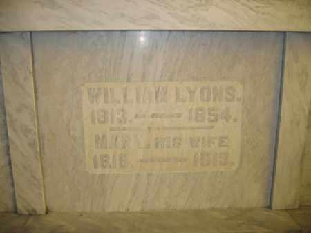 LYONS, MARY - Union County, Ohio | MARY LYONS - Ohio Gravestone Photos