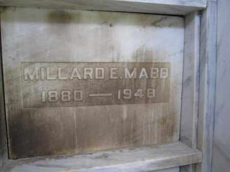 MABB, MILLARD E - Union County, Ohio | MILLARD E MABB - Ohio Gravestone Photos