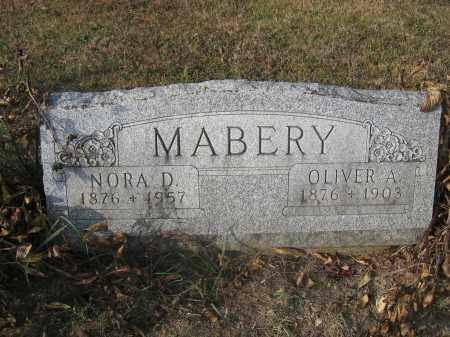 MABERY, OLIVER A. - Union County, Ohio | OLIVER A. MABERY - Ohio Gravestone Photos