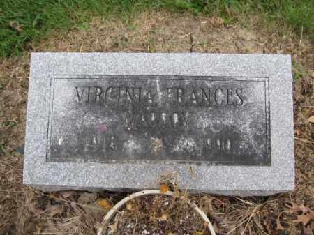 MACCOY, VIRGINIA FRANCES - Union County, Ohio | VIRGINIA FRANCES MACCOY - Ohio Gravestone Photos