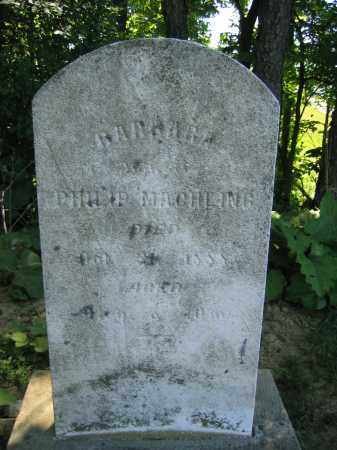 MACHLING, BARBARA - Union County, Ohio | BARBARA MACHLING - Ohio Gravestone Photos