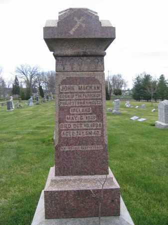 MACKAN, JOHN - Union County, Ohio   JOHN MACKAN - Ohio Gravestone Photos