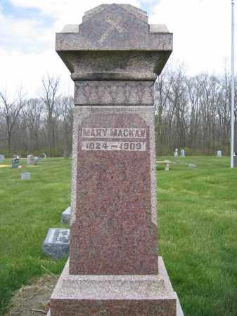 MACKAN, MARY - Union County, Ohio | MARY MACKAN - Ohio Gravestone Photos
