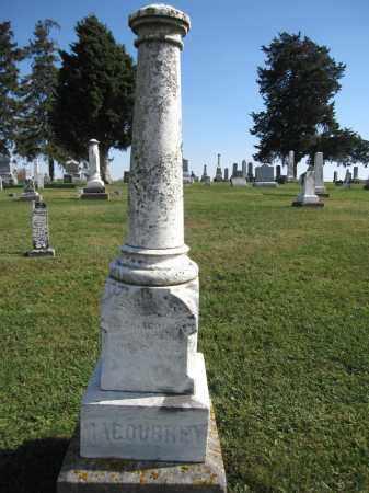 MACOUBRY, WILLIAM - Union County, Ohio   WILLIAM MACOUBRY - Ohio Gravestone Photos