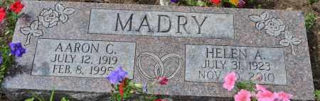 MADRY, AARON C. - Union County, Ohio | AARON C. MADRY - Ohio Gravestone Photos