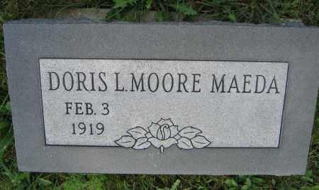 MAEDA, DORIS L. MOORE - Union County, Ohio | DORIS L. MOORE MAEDA - Ohio Gravestone Photos