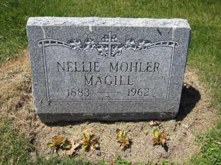 MAGILL, NELLIE MOHLER - Union County, Ohio | NELLIE MOHLER MAGILL - Ohio Gravestone Photos