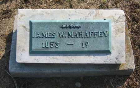 MAHAFFEY, JAMES W. - Union County, Ohio | JAMES W. MAHAFFEY - Ohio Gravestone Photos