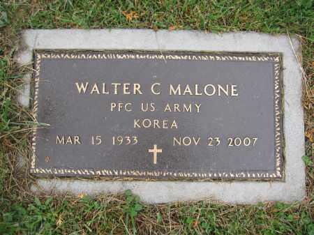 MALONE, WALTER C. - Union County, Ohio | WALTER C. MALONE - Ohio Gravestone Photos