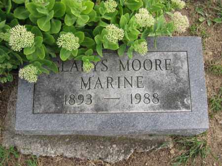 MARINE, GLADYS MOORE - Union County, Ohio | GLADYS MOORE MARINE - Ohio Gravestone Photos